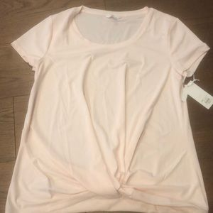 NWT Candies Pink Shirt-Large